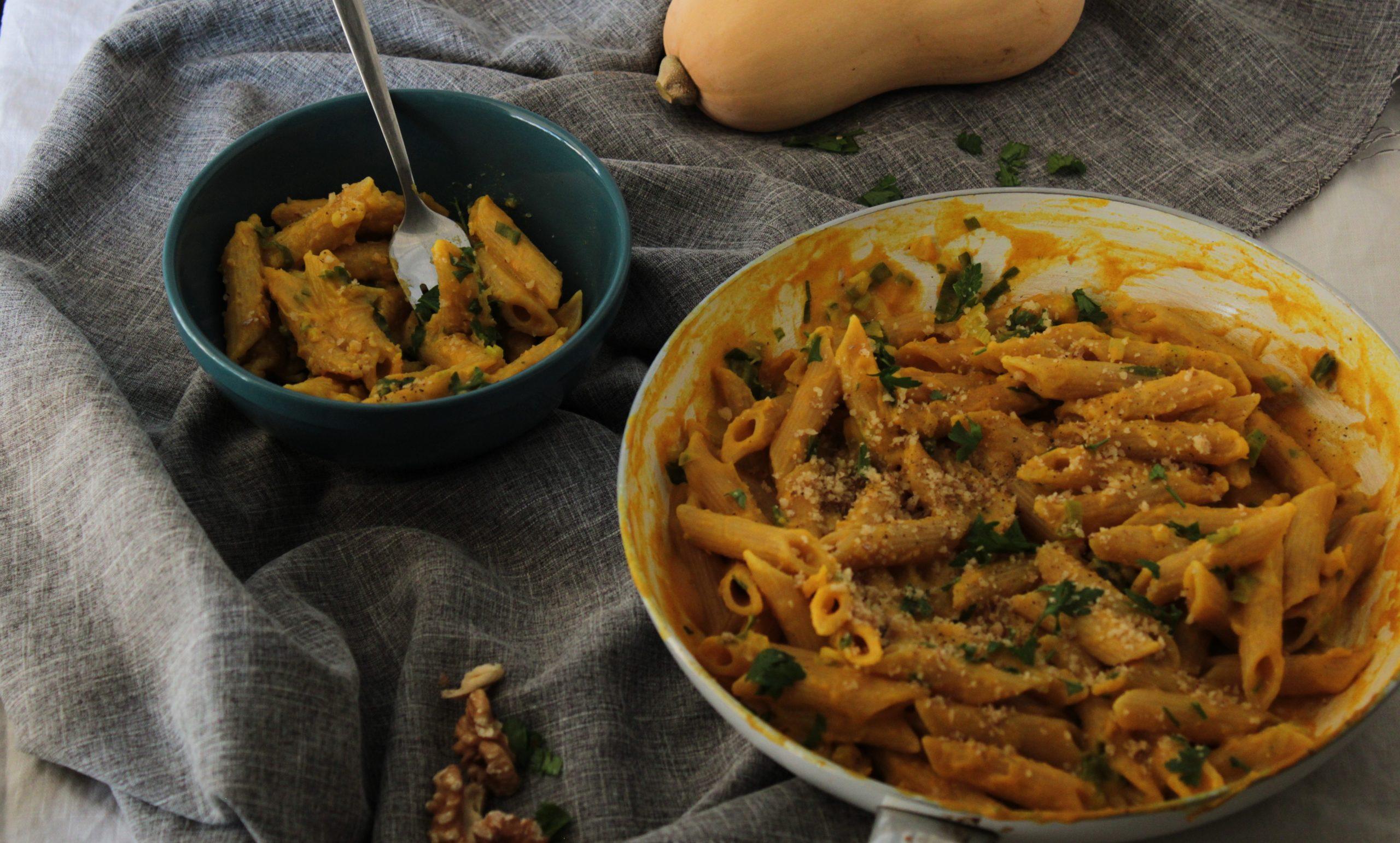 kolokitha-pesto-pasta-halloween-geonutrition